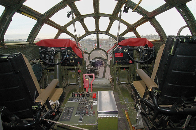 B 29 Inside B 29 Cockpit | ...