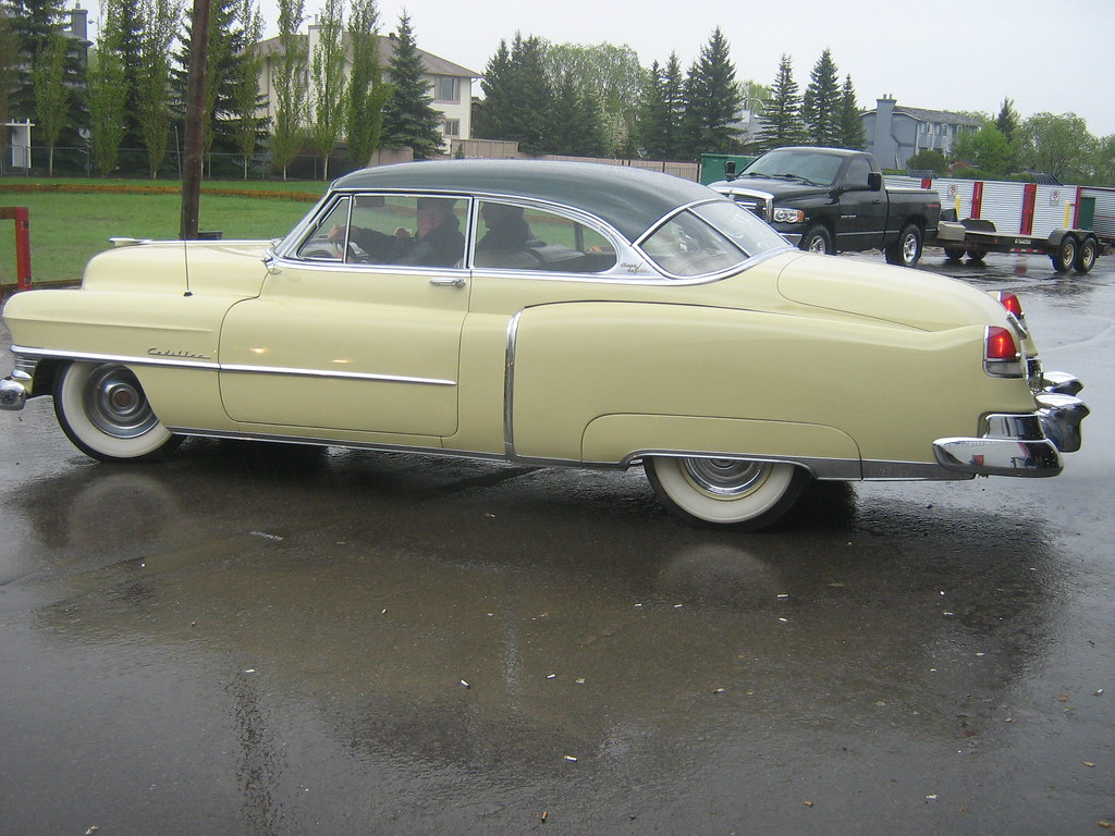 1951 Cadillac Coupe De Ville 62 37d This Was A One