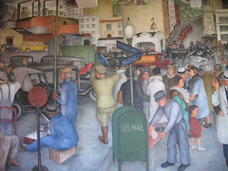 Coit Tower WPA Mural | by Gary Soup