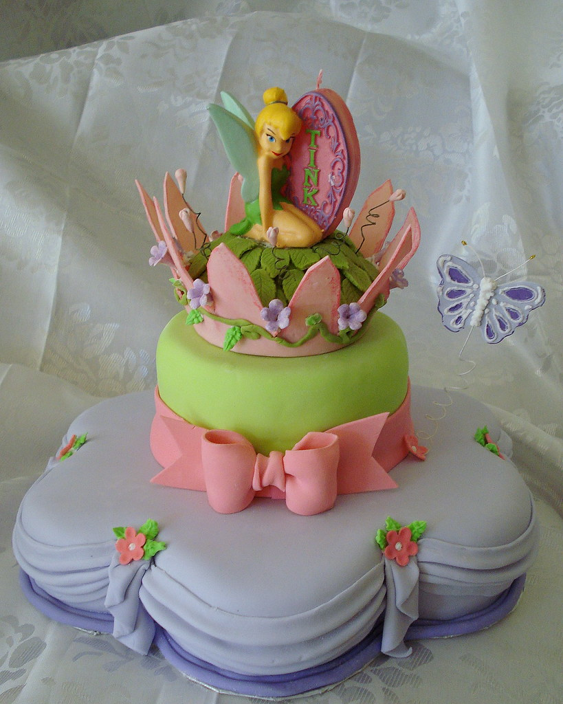 tinkerbell cake by Eve Marzan Eve Mar Flickr