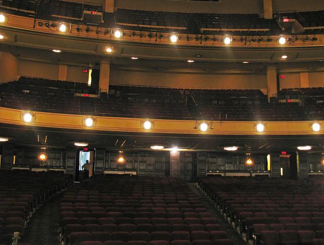 Music Hall Detroit Michigan Balconies In The Auditorium Flickr