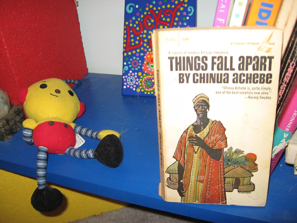 "a comparison of chinua achebes things fall apart and william butler yeats the second coming 1958: chinua achebe's things fall apart the title of achebe's famous first novel comes from a line in yeats's ""the second coming,"" which is, well, about an apocalypse of sorts the greatest factoid about this cultural influence."