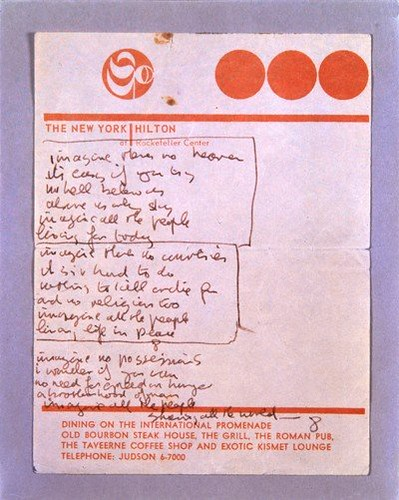 IMAGINE (1971) | by Yoko Ono official