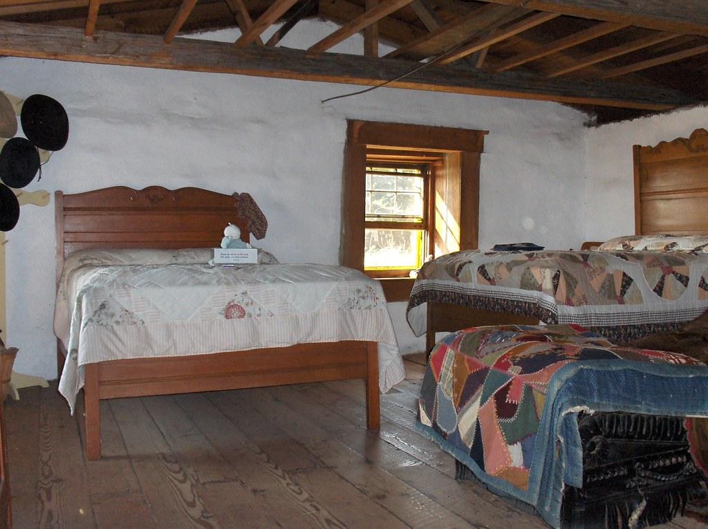 Inside The Sod House On The Prairie Sanborn Mn Sod