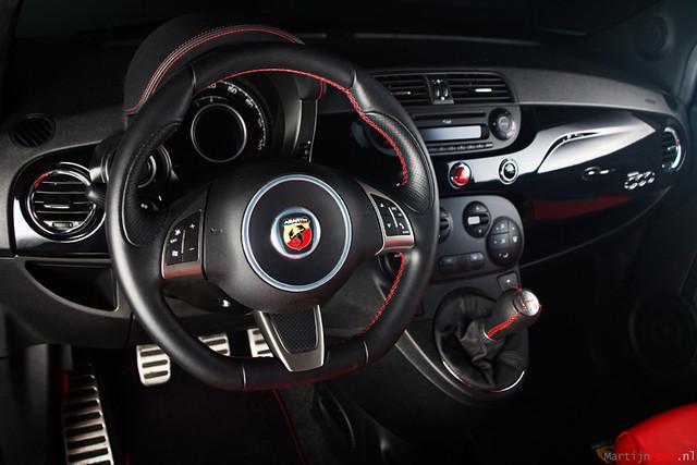 Fiat 500 Abarth Interior | Nikon SB-24 on 1/2 and 24mm throu… | Flickr