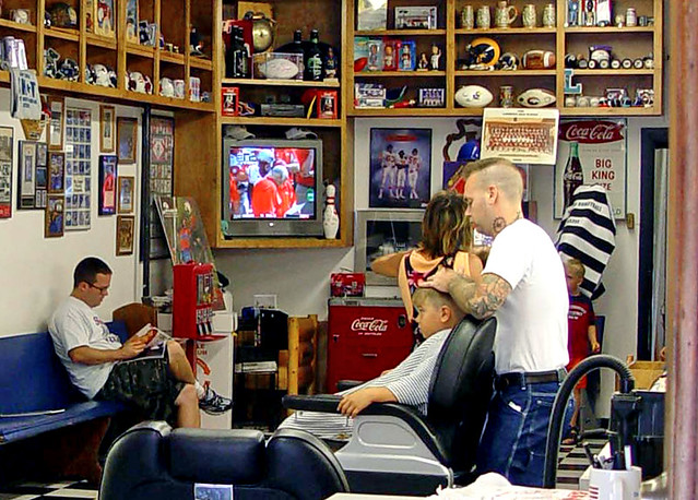Lawrence KS - A Barber Shop in a University Town (3 of 3 ...