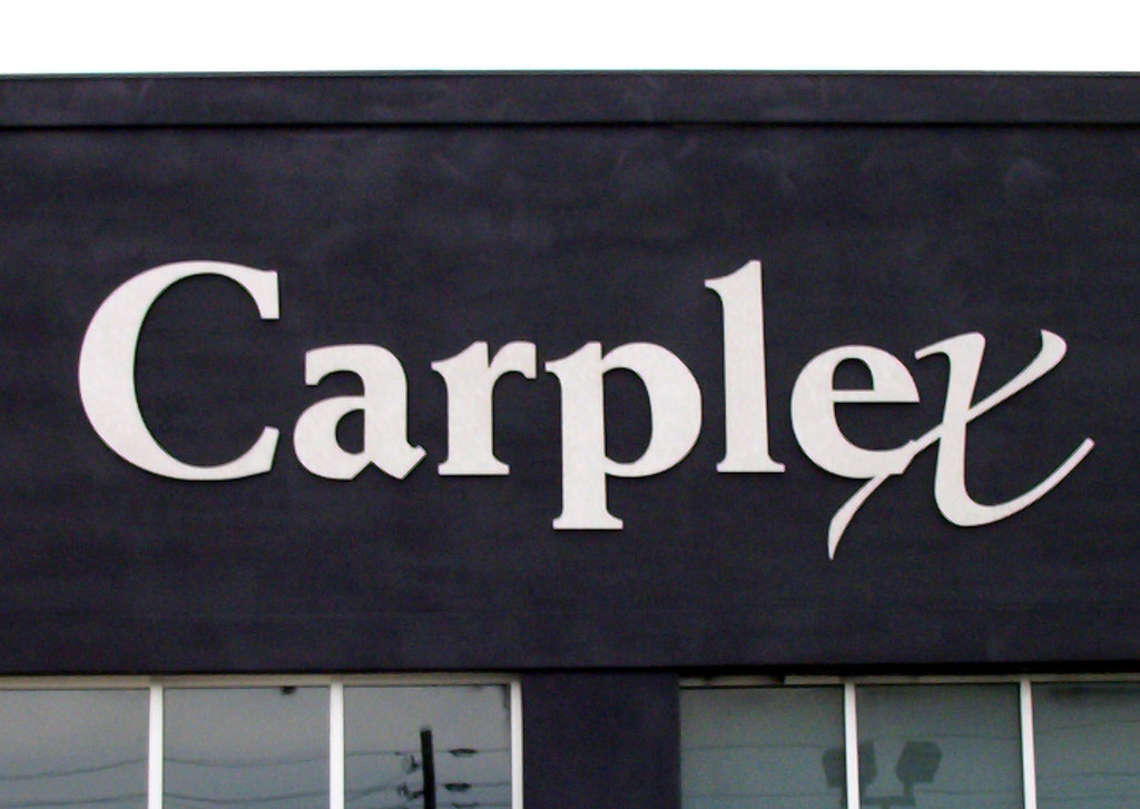 carplex wall mounted dimensional lettering since 1987