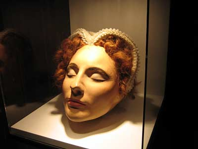 Mary Queen Of Scots Death Mask Mary Queen of Scots De...