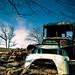 Old Cars - Pre 72 International Milk Truck