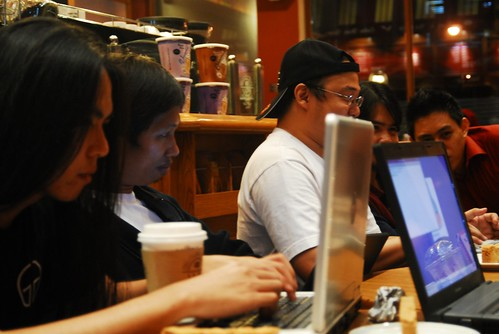 Ubuntu-PH hacking through the coffee shop wifi | by napramirez