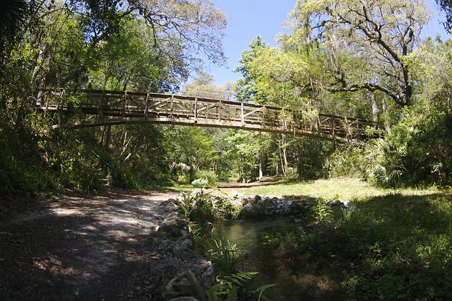 Ravine Gardens Suspension Bridge Flickr Photo Sharing