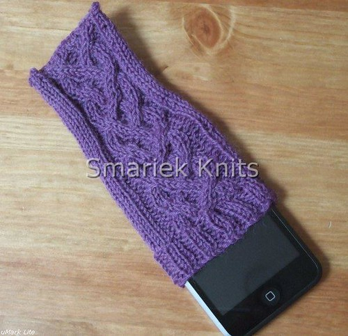Knitting Pattern For Ipod Sock : Four-Rib Braid iPod Touch Sock Free pseudo-pattern is at s? Flickr