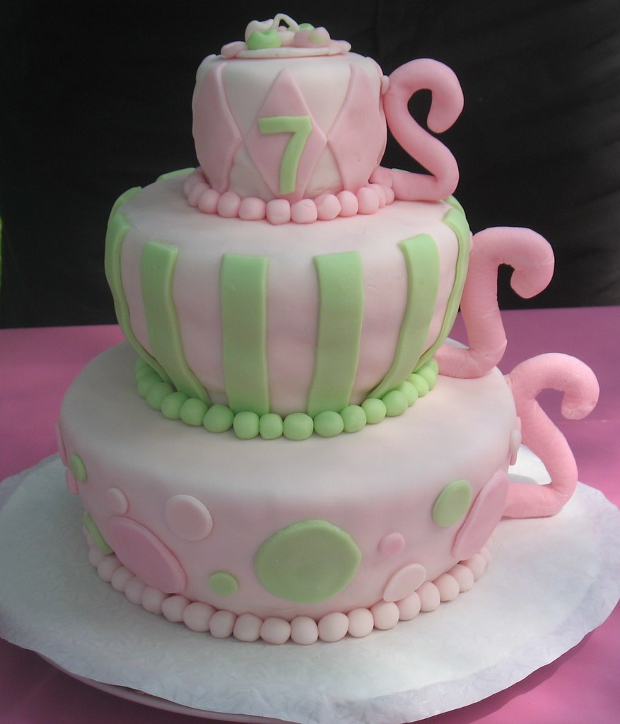 Teapot Cake Decorations