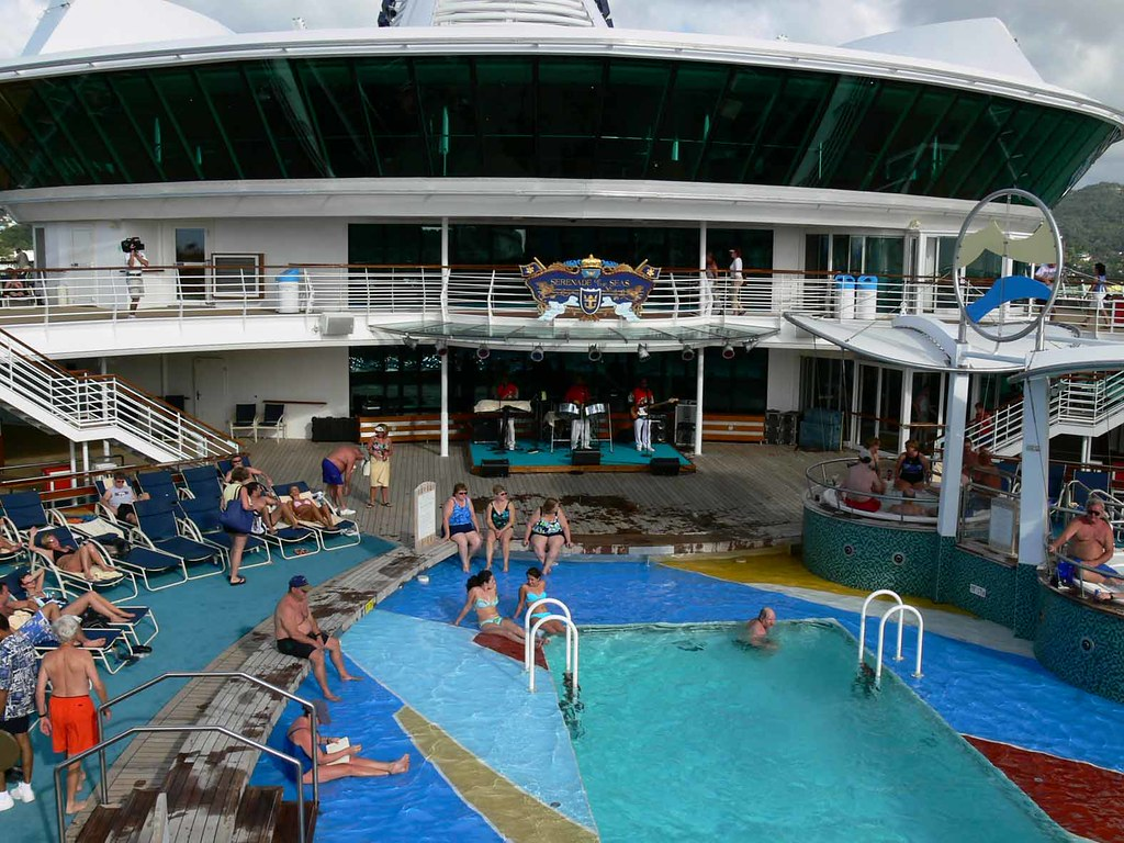 pool deck serenade of the seas royal caribbean cruise li