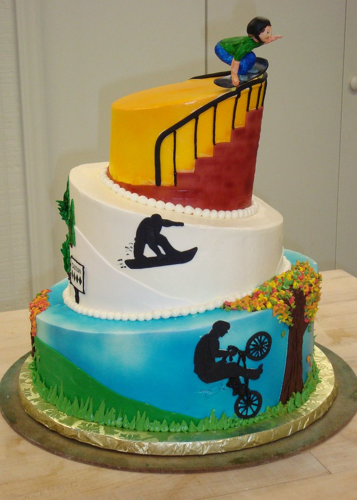 Extreme Sports Cake Haines Barksdale Flickr