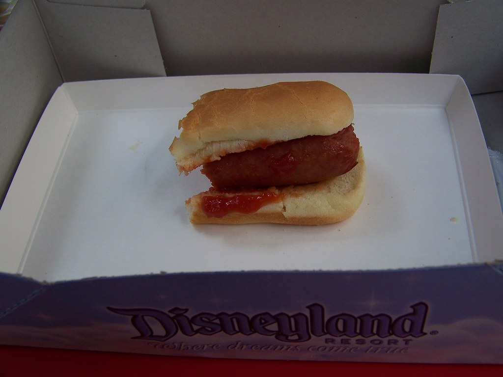 Plain Hot Dog   What can I say... Bun, dog, heinz ketchup ...