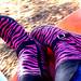 Zebra Print Rocks My Socks