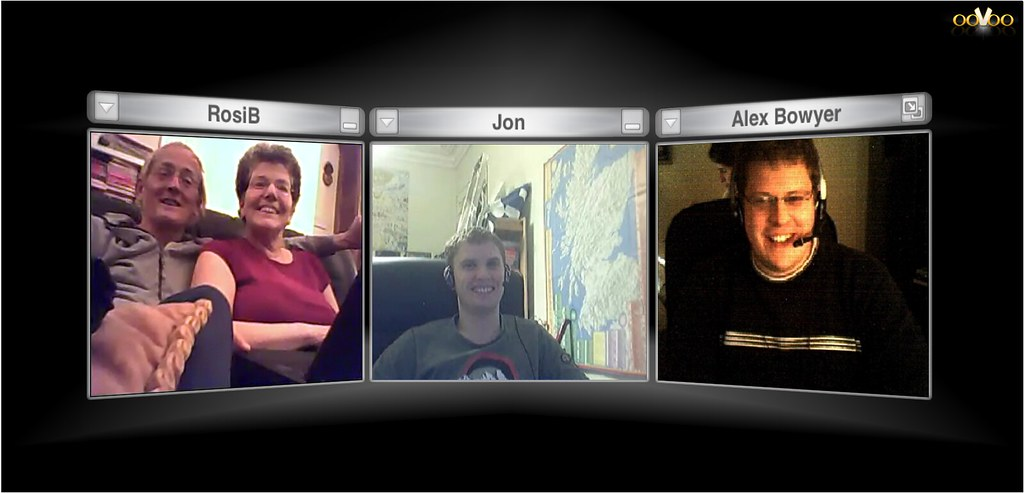 ooVoo Webcam Chat with Family - Found a great tool for three… - Flickr