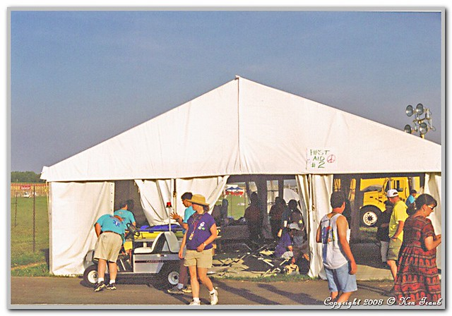 ... Woodstock 99 medical tent #2 | by DiverKen & Woodstock 99 medical tent #2 | Woodstock 99 concert My home u2026 | Flickr