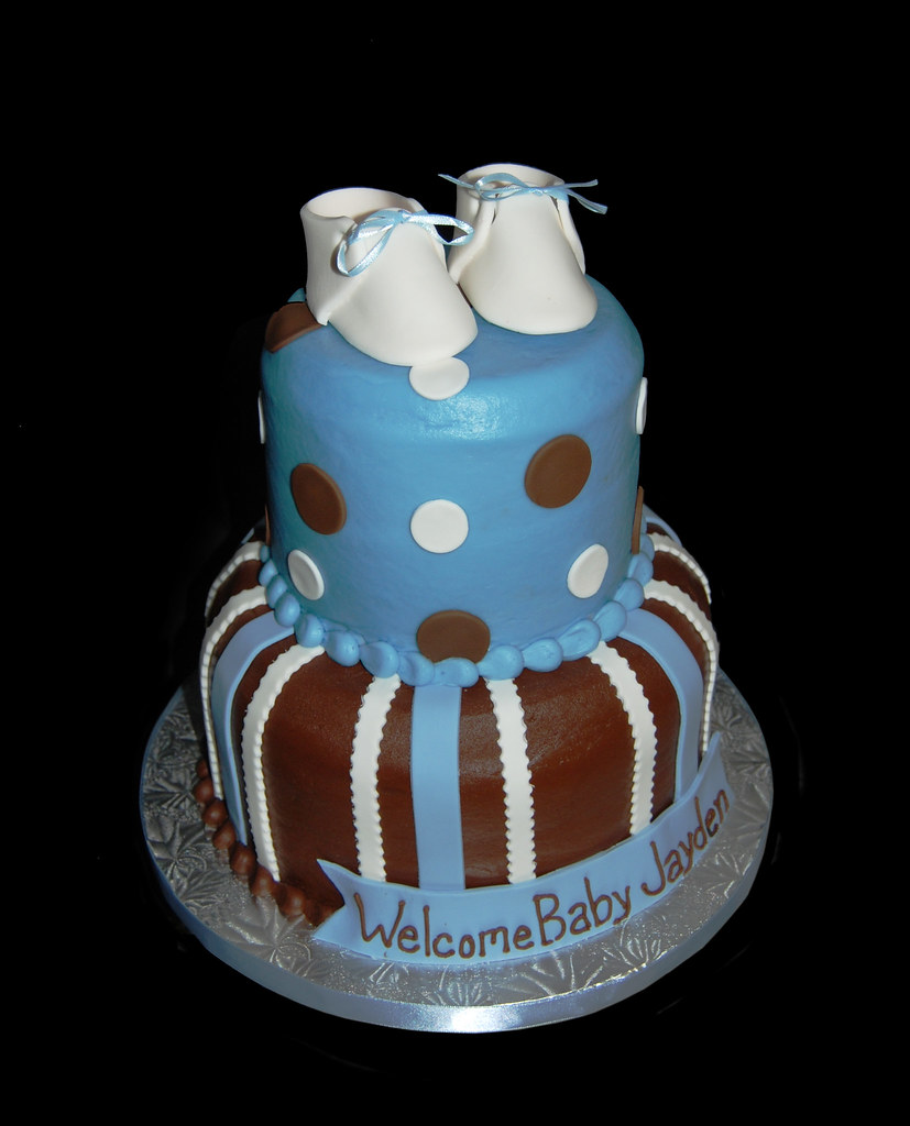 Cake Baby Shower Message