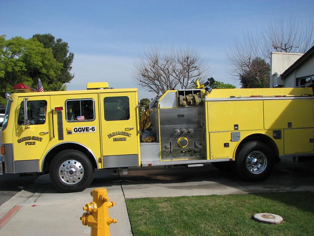Garden Grove Fire Dept Paramedic Engine Highway Patrol Images Flickr