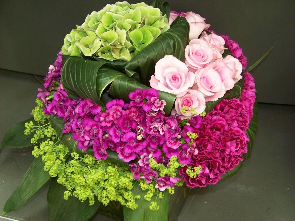 jolie montage floral eric forget flickr. Black Bedroom Furniture Sets. Home Design Ideas