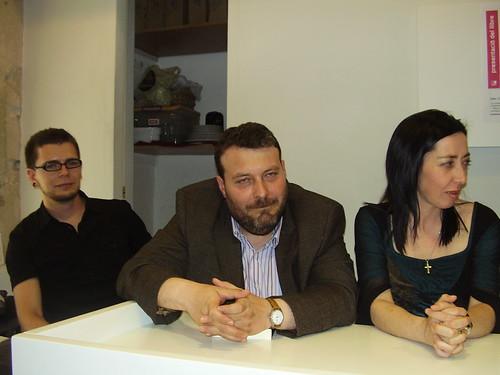 Marc Volpini, Manel Riu i Mir Roy