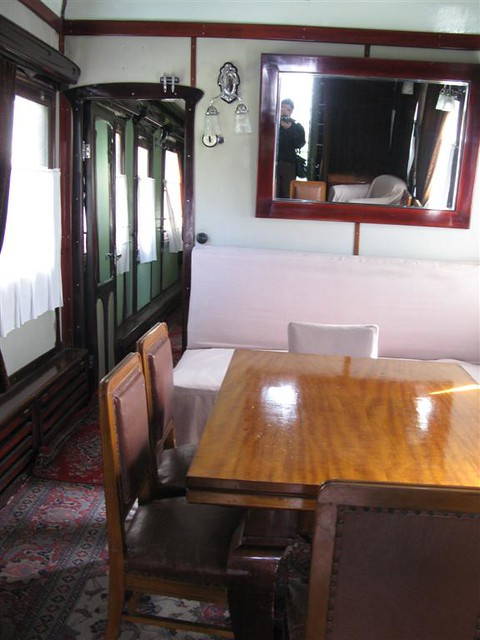 stalin 39 s private rail car interior dining cabin devin connolly flickr. Black Bedroom Furniture Sets. Home Design Ideas