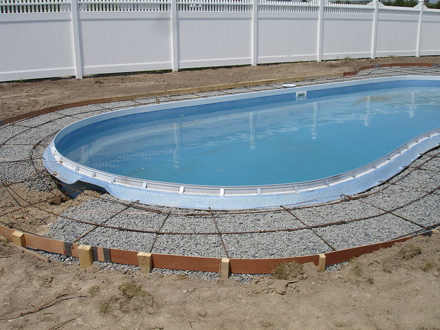 Cantilever Style Pool Deck Without The Hassle Flickr