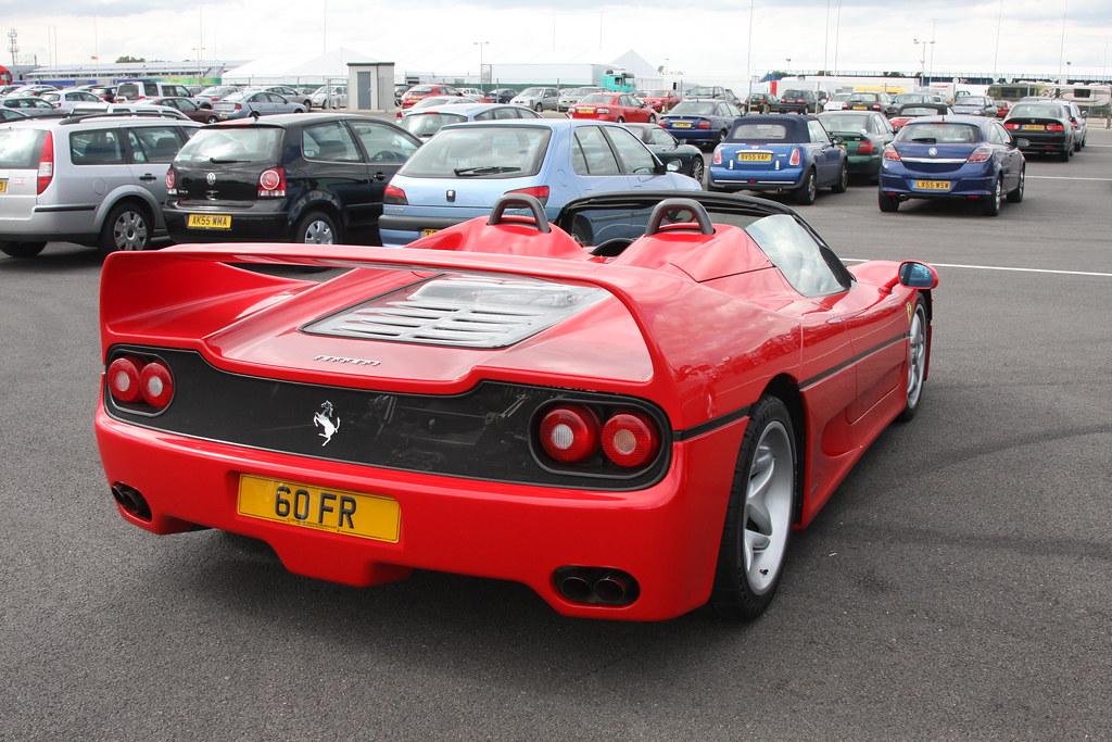 F1testing08 455 Ferrari F50 Paul Williams Flickr