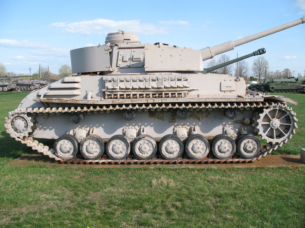 Hydrostatic Transmission Mini Tank : Panzer iv experimental gh fmcv b