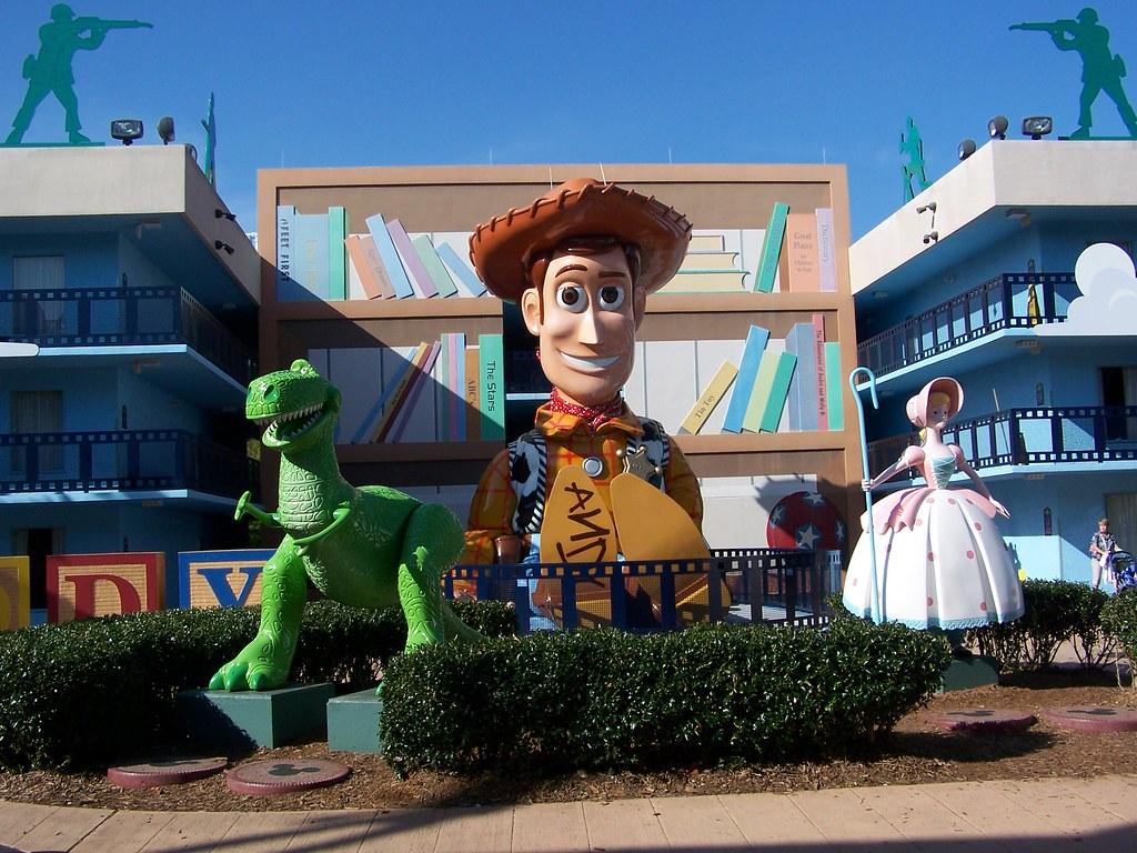 Disney All Star Movies Food Court Menu