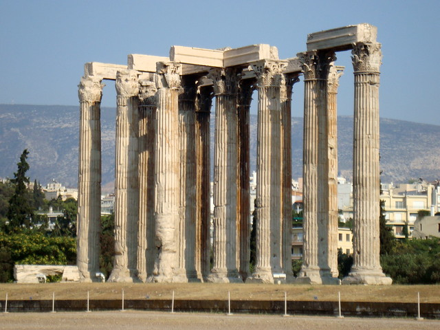 Temple of Olympian Zeus, Athens  Flickr - Photo Sharing!
