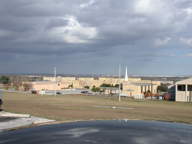 ft sam houston view of 232nd barracks from the nco club cliff flickr. Black Bedroom Furniture Sets. Home Design Ideas