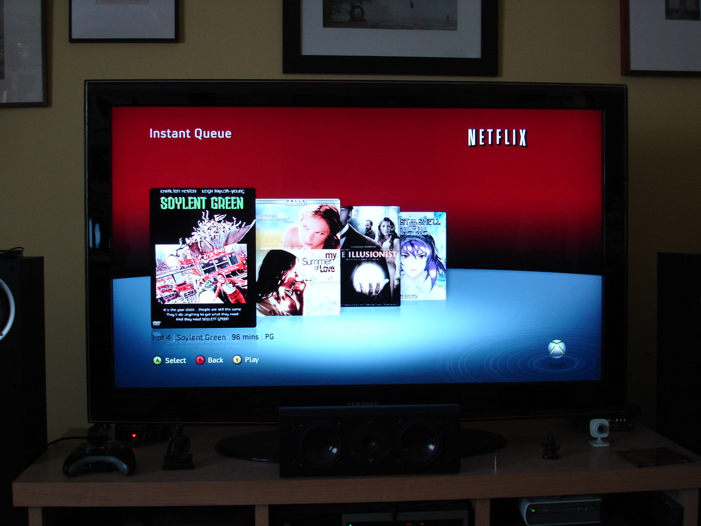 how to delete netflix from my xbox 360
