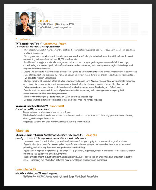 Resume Examples Styles FREE Resume Creator