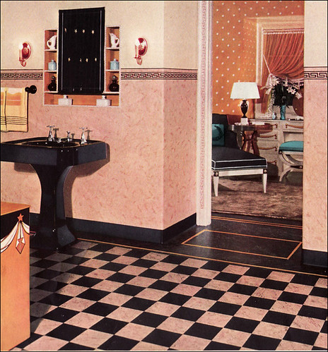 1930s bathroom design flickr photo sharing for 1930 s bathroom decor