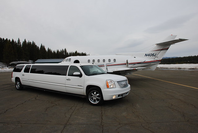 Limo And Private Jet  Flickr  Photo Sharing