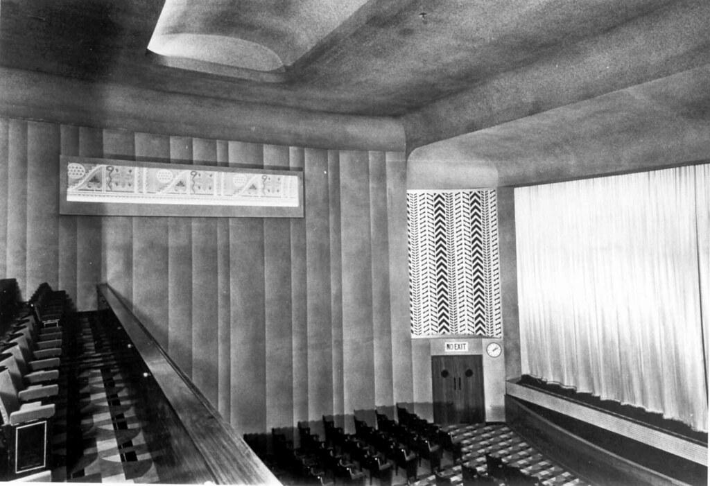 The Art Deco Embassy Cinema Tenterden Kent Uk The