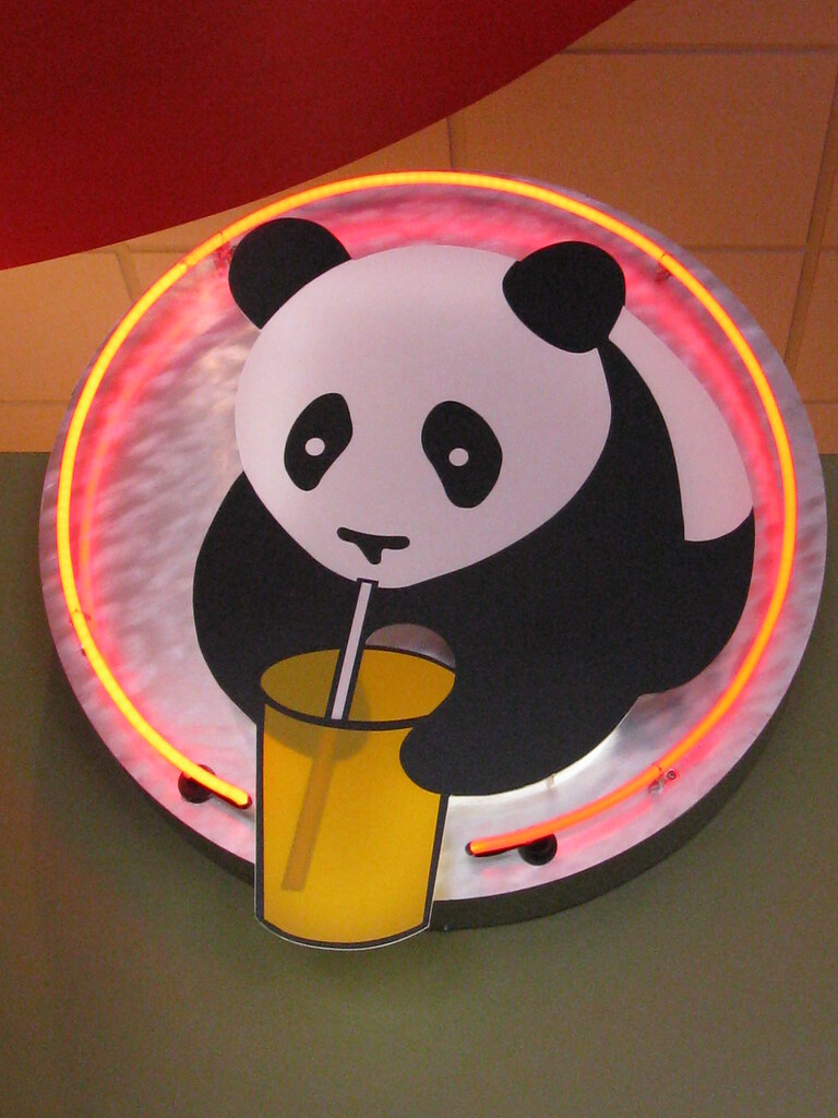 Panda Express Sign | They just opened up the street, and I ...
