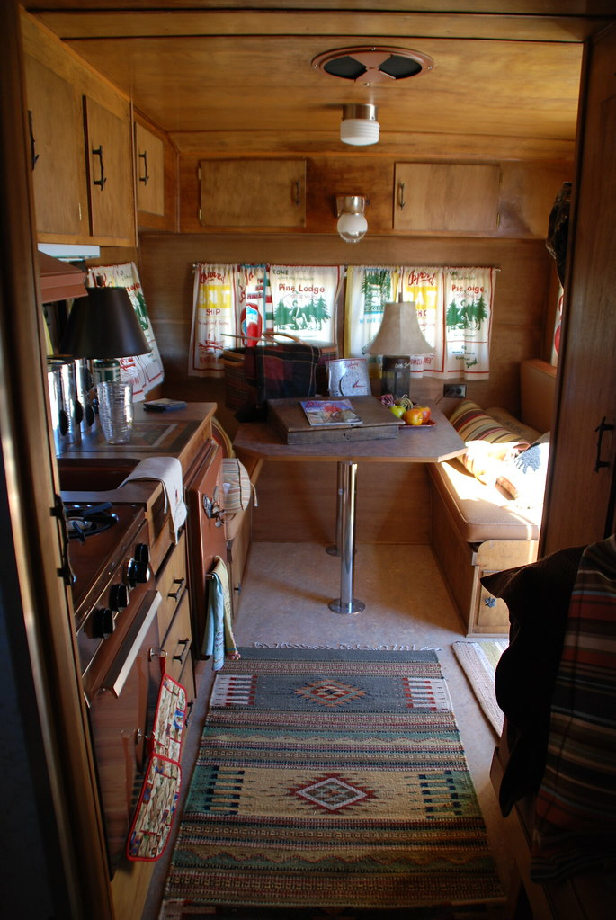 1960 Yellowstone Vintage Trailer Inside Length Montana