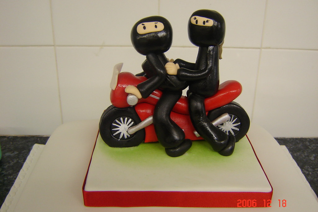 Motorbike cake topper flickr for Motorbike template for cake