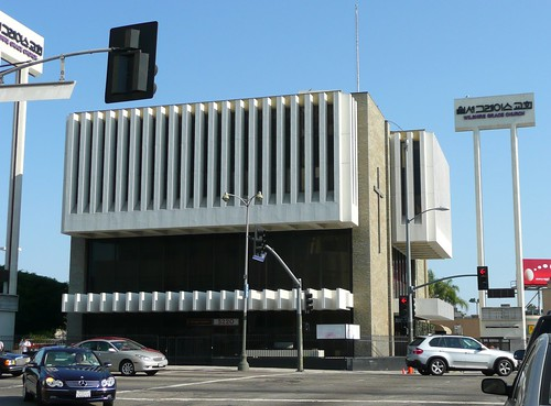 Los Angeles CA Mid Century Modern Bank Columbia Savings Flickr Photo S