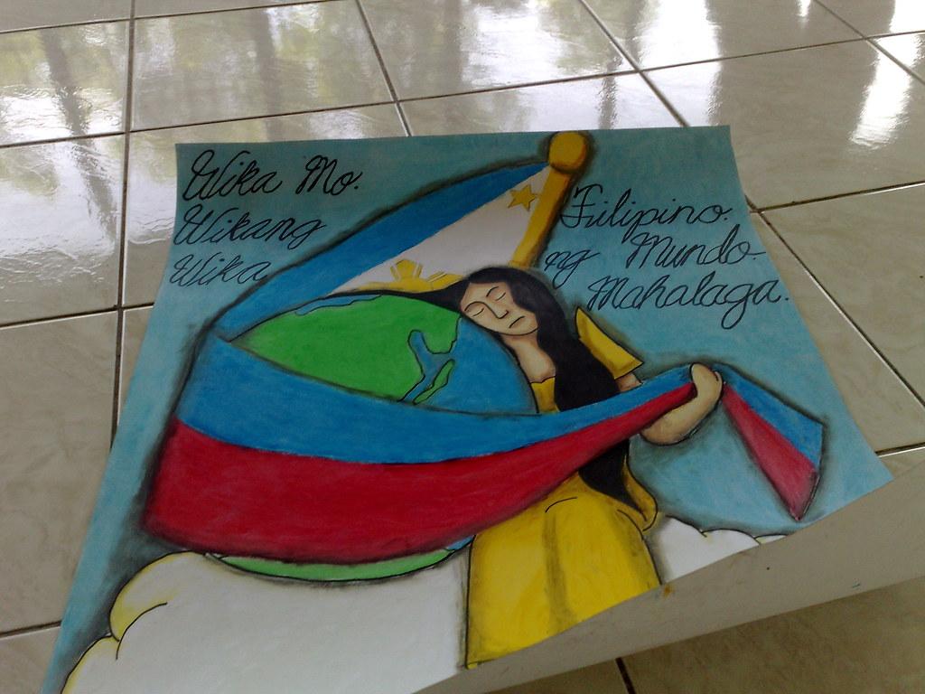 Slogan Making Buwan ng Wika Buwan ng Wika:poster Making