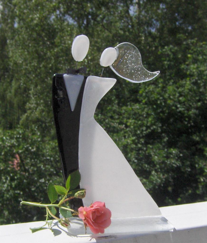 glas brudepar glass hanne storgaard m248ller flickr