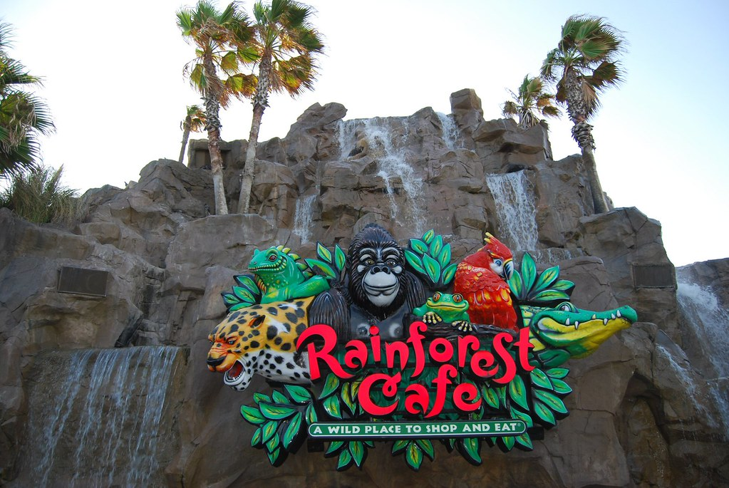 Rainforest Cafe Menu Galveston Texas