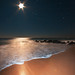 Moonshine, Orion Rising on Vilano Beach With Notes