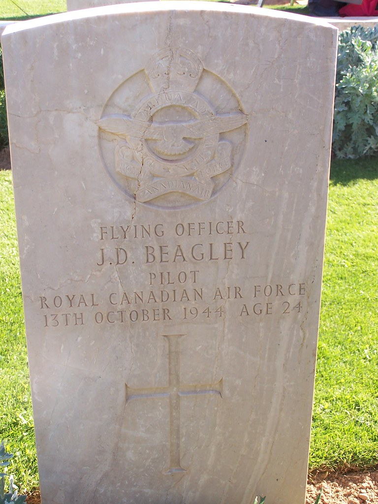 Rcaf Pilot Remembered At Bab Gargaresh Commonwealth War