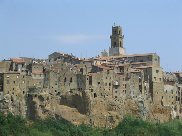 Pitigliano. Toscana