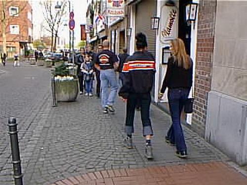 Koln35 Street Fashion Cologne Germany 2000 Street